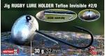 RUGBY - Lure holder #2/0, 30 g, 5 ks +10 Kč