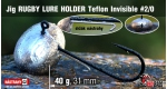 RUGBY - Lure holder #2/0, 40 g, 5 ks +16 Kč