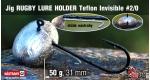 RUGBY - Lure holder #2/0, 50 g, 5 ks +16 Kč