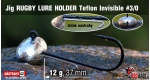 Jig Teflon RUGBY - Lure holder #3/0, 12 g, 5 ks