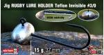 Jig Teflon RUGBY - Lure holder #3/0, 15 g, 5 ks