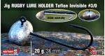 Jig Teflon RUGBY - Lure holder #3/0, 20 g, 5 ks +4 Kč