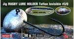 Jig Teflon RUGBY - Lure holder #3/0, 50 g, 5 ks +14 Kč