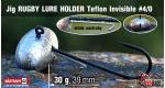 RUGBY - Lure holder #4/0, 30 g, 5 ks +10 Kč