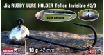 RUGBY - Lure holder #5/0, 10 g, 5 ks