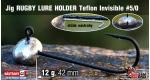 RUGBY - Lure holder #5/0, 12 g, 5 ks