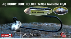 Jig Teflon Invisible RUGBY - Lure holder # 3/0, 5 ks