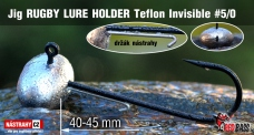 Jig Teflon Invisible RUGBY - Lure holder # 5/0, 5 ks