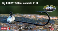 Jig Teflon Invisible RUGBY # 1/0, 5 ks
