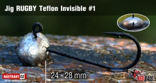 Jig Teflon Invisible RUGBY # 1, 5 ks