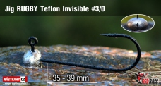 Jig Teflon Invisible RUGBY # 3/0, 5 ks