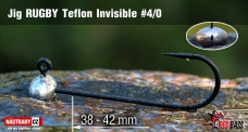 Jig Teflon Invisible RUGBY # 4/0, 5 ks