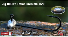 Jig Teflon Invisible RUGBY # 5/0, 5 ks