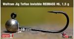 Wolfram Teflon #6, NIKL, 1,5 g, 5 ks