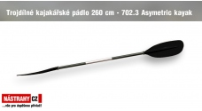Trojdílné pádlo 260 cm - 702.3 Asymetric