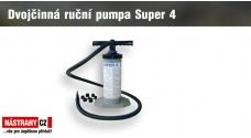 Dvojčinná ruční pumpa Super 4/2