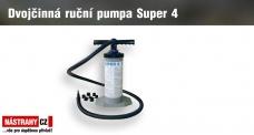 Dvojčinná ruční pumpa Super 4