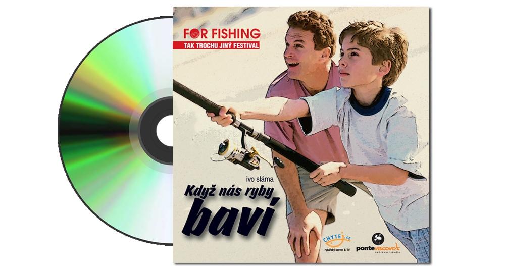 """ZDARMA Hudební CD """"Když nás ryby baví"""" - obj. nad 700,- Kč"""