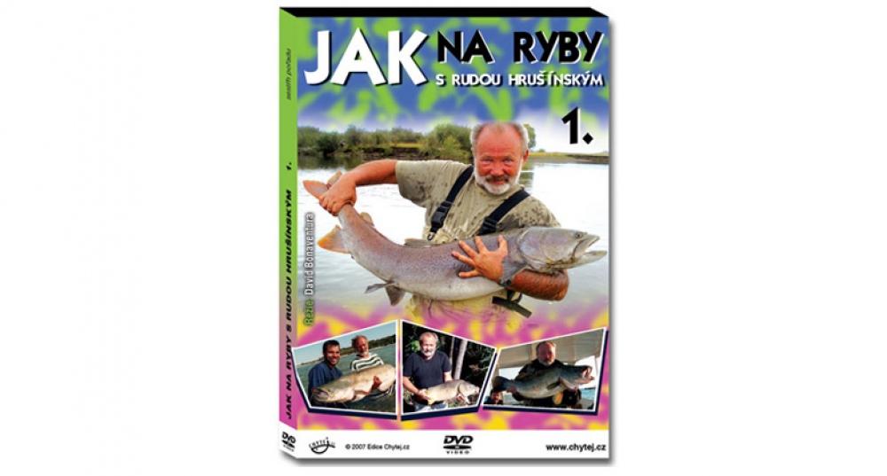 DVD Jak na ryby s Rudou Hrušínským - 111 minut