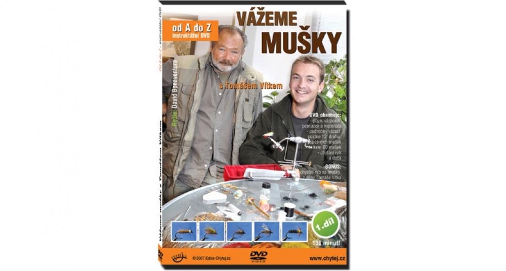 DVD Vážeme mušky s Tomášem Vítkem od A do Z - 136 minut