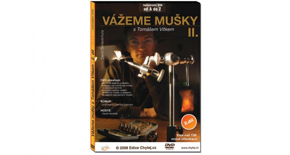 DVD Vážeme mušky s Tomášem Vítkem II. díl - 136 minut
