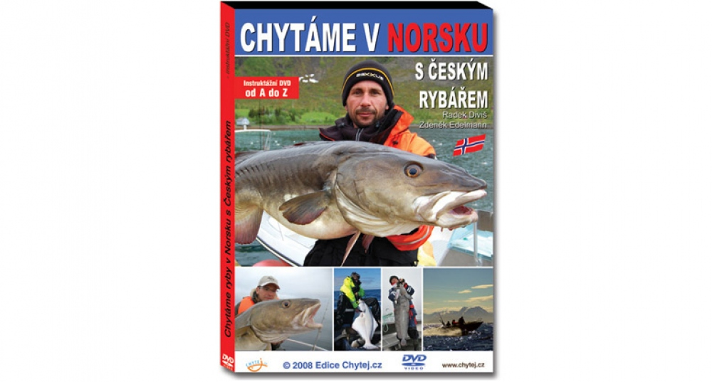 DVD Chytáme v Norsku s Českým rybářem - 142 minut