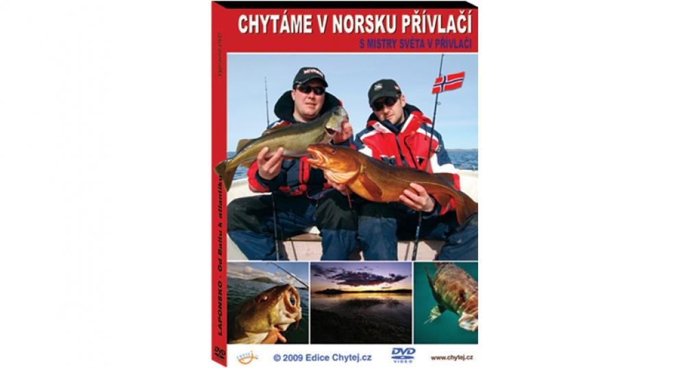 DVD Chytáme v Norsku přívlačí s mistry světa v přívlači, 76 min.