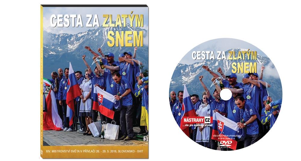 DVD Cesta za zlatým snem - MS v přívlači, Slovensko 2016 - 110 minut