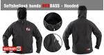 Softshell REDBASS Hooded - vel. XXL