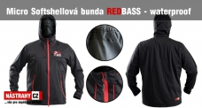 Micro softshellová bunda REDBASS Waterproof