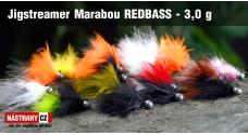 Jigstreamer Marabou REDBASS 3 g