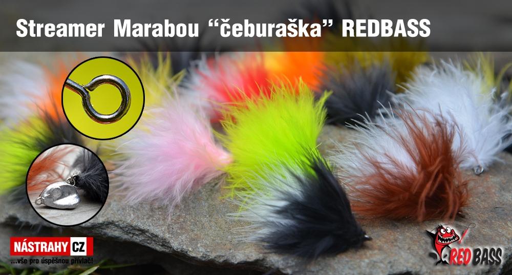 """Streamer Marabou """"čeburaška"""" REDBASS"""