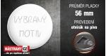průměr 56 mm - otvírák na pivo +20 Kč