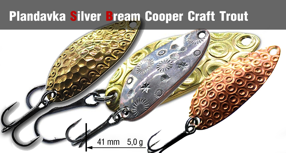 Plandavka Silver Bream - Cooper Craft Trout