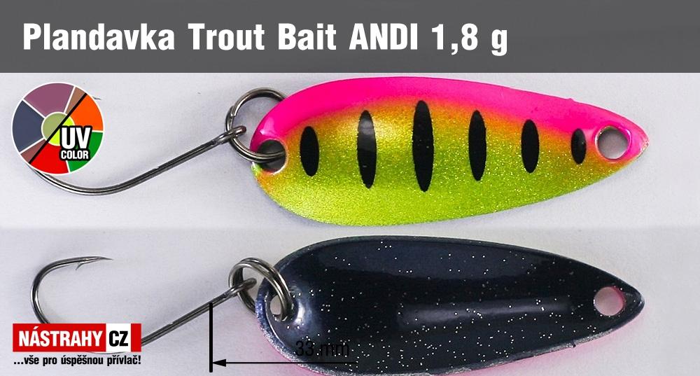 Plandavka Trout Bait - ANDI 1,8 g