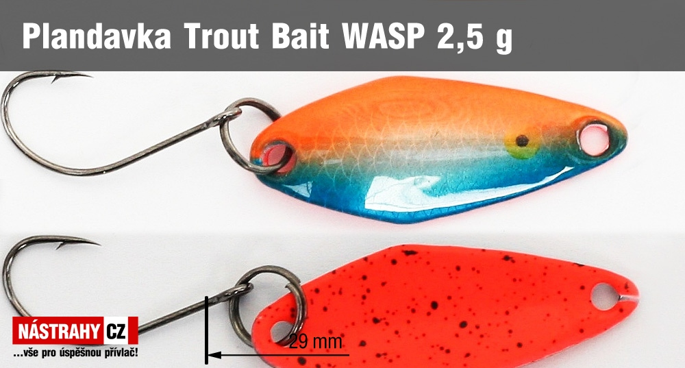 Plandavka Trout Bait - WASP 2,5 g