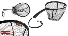 Přívlačový podběrák Delphin SPIN-R, pogumovaná síťka
