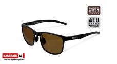 Fotochromatické polarizační brýle Delphin SG BLACK