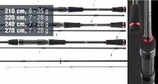 NOVINKA 2020 - Přívlačový prut Daiwa Ballistic X Jigger - SKLADEM