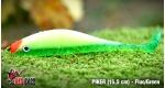 PIKER 15,5 cm - Fluo/Green