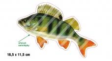 Rybářská samolepka OKOUN 1 L