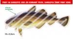 Rybářská samolepka TRESKA L