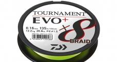 DAIWA splétaná šňůra TOURNAMENT X8 EVO+ 135 m