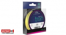 FIN TRON fluo žlutá pletená šňůra 0,05 a 0,06 mm