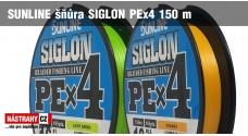 SUNLINE splétaná šňůra SIGLON PEx4 150 m