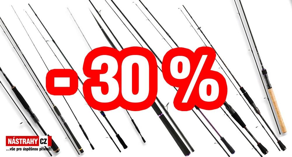VÝPRODEJ PRUTŮ DAIWA - SLEVA 30%