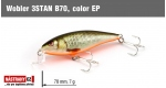 Wobbler 3STAN B70, Color: EP
