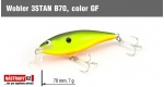 Wobbler 3STAN B70, Color: GF