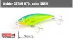 Wobbler 3STAN B70, Color: SBSH