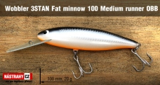Wobbler 3STAN Fat minnow 100 medium runner